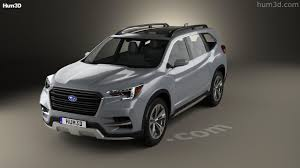 subaru suv concept 360 view of subaru ascent suv 2017 3d model hum3d store