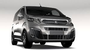 peugeot van 2017 peugeot traveller l1 2017 3d model in van and minivan 3dexport