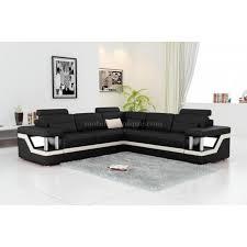 canape d angle noir et blanc canapé angle noir et blanc pas cher