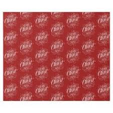 christian wrapping paper merry christmas marquee calligraphy wrapping paper