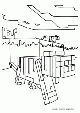 minecraft alex coloring free printable coloring pages