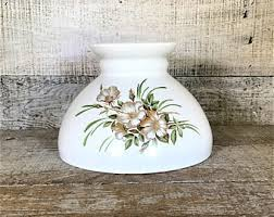hurricane lamp shade etsy