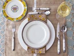 How To Set Silverware On Table Thanksgiving Table Setting Ideas Hgtv