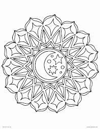 moon mandala coloring pages images sun mandala coloring pages