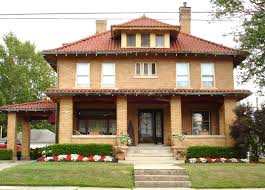 type of house american foursquare house