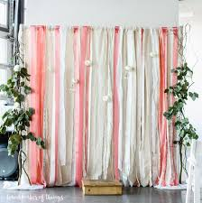 wedding backdrops diy lace and ribbon wedding backdrop handmaker of things