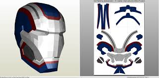 iron man iron patriot full armor foam pepakura eu