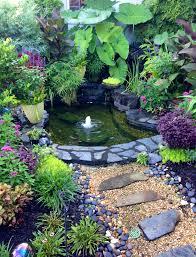 beautiful outdoor water garden outdoors pinterest water