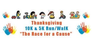 jr across south 10th annual thanksgiving 10k 5k run walk