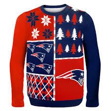 patriots sweater patriots busy block sweater