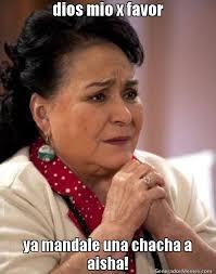 Aisha Meme - dios mio x favor ya mandale una chacha a aisha meme de carmen