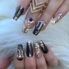 98 best hair nails images on pinterest coffin nails acrylic
