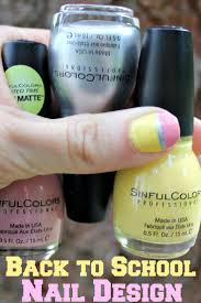 diy nail design with sinfulcolors a class act