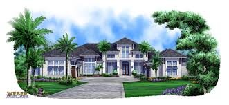 luxury coastal home plans