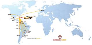 Singapore Air Route Map by Centurion Air Cargo World Airline News