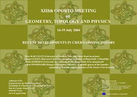 xiiith oporto meeting on geometry topology u0026 physics july 2004