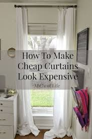 Short Curtains For Basement Windows by Best 25 Inexpensive Curtains Ideas On Pinterest Diy Clothes Rod