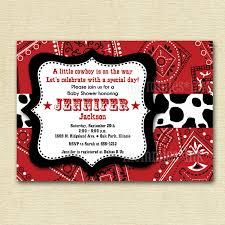 western baby shower invitations cheap u2014 criolla brithday u0026 wedding