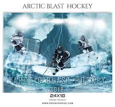 hockey templates for photoshop arctic blast hockey sports photoshop template