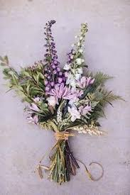 Lavender Bouquet Creating A Cohesive Wedding Theme September Flower Lavender