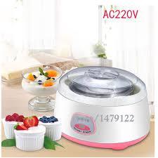 appareil de cuisine multifonction multifonction yogourt machine mini automatique yaourtière 1l