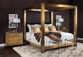 brass elegance bedroom room ideas