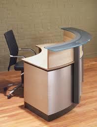 Reception Desk Circular Desks Crescent Modern Reception Desk Stoneline Designs