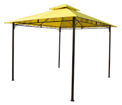 patio gazebo canopy buy 12 foot square patio gazebo w blue canopy