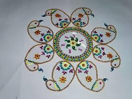 mayur arts u0026 crafts rearrangable and reusable rangoli
