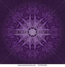 vintage invitation card on grunge purple stock vector 450233776