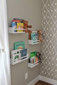 Wall Mounted Bookshelves Ikea - how to use ikea spice racks for books or the easiest diy wall