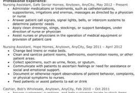 Resume Examples For Cna by Best Er Nurse Resume Nurse Resume Example Resume Resume Fetching