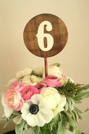wedding table number fonts wood handmade wedding table numbers 1 10 made to order round rustic