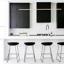 cuisine minimaliste design inspiration d une cuisine minimaliste hyper chic black white sobre