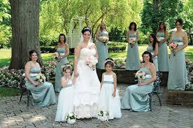 makeup at shadowbrook in shrewsbury bride 39 s gown oleg cini david bridal bridesmaid dresses freehold hair