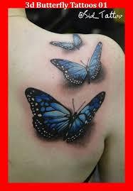 Flower Butterfly Tattoos 01 131 Best 3d Tattoos Images On Tatoos Best 3d Tattoos