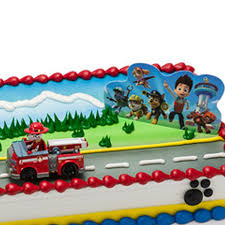 Paw Patrol Cake Decorating Kit 2 pcs