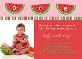 watermelon birthday party invitations u2014 liviroom decors red and