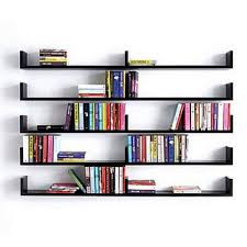 contemporary shelves and bookcases diy wall mounted shelves wall