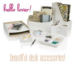 Desk Organizer Sets Desk Accessories Set Office And Depot Organizer Regarding Prepare
