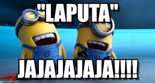 Memes De Los Minions - laputa minions laughing meme on memegen