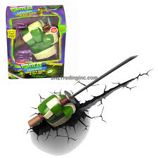3dlightfx teenage mutant ninja turtles tmnt series 3d night light