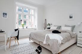 bedroom design in scandinavian style naturalness and simplicity