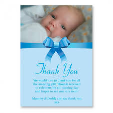 thank you card religion christening photo thank you cards custom