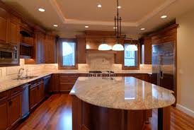 custom kitchen countertop ideas waukesha quartz backsplash