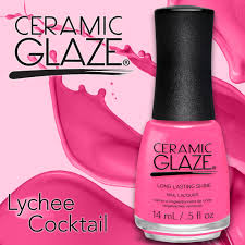 lychee cocktail lychee cocktail ceramic glaze nail lacquer