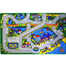 kids rug harbor map 5 u0027 x 7 u0027 childrens fun learning carpet 59