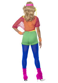 women u0027s 80s let u0027s get physical costume