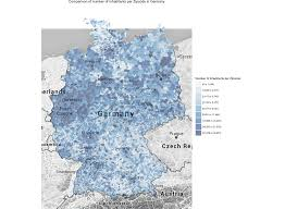 Zip Code Heat Map by Case Study Mapping German Zip Codes In R R Bloggers