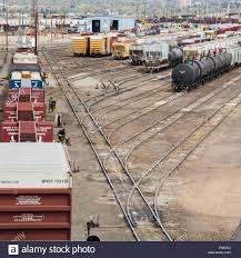 denver colorado the union pacific denver north rail yard stock
